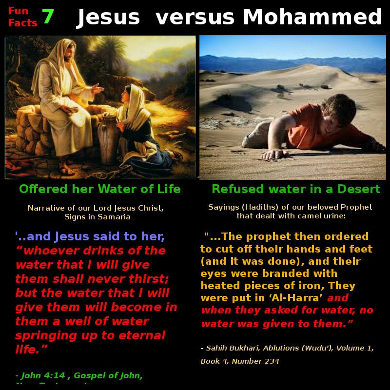 The Nazaroo Zone Fun Facts Jesus Vs Muhammed 1 7