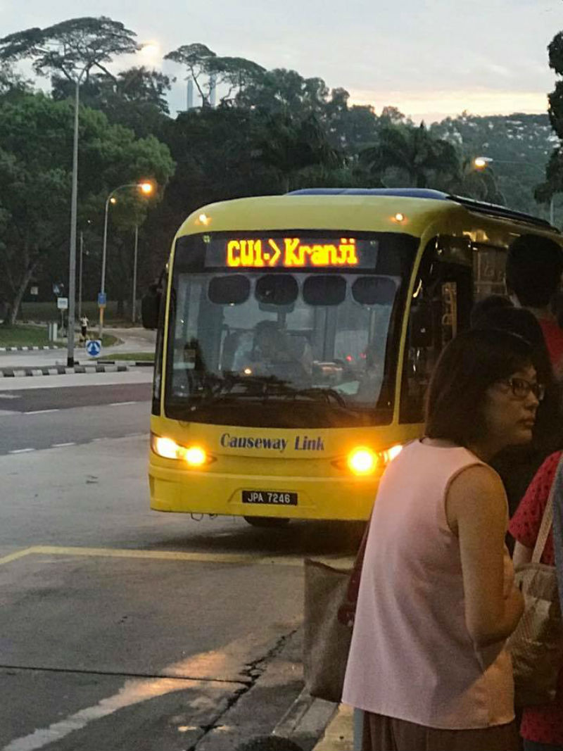 CW1 Bus at Kranji