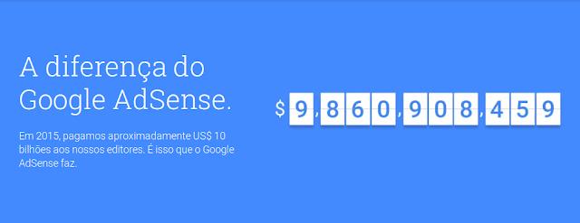 quanto o google adsense paga
