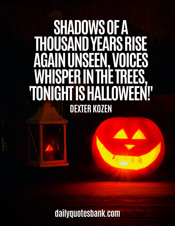 Famous Quotes About Halloween