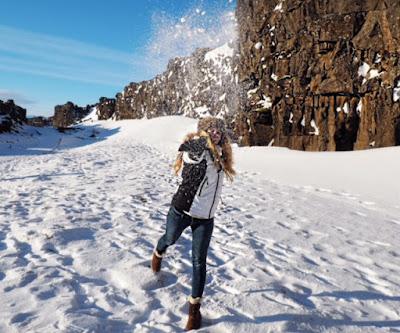 fiona kay skiing