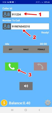 बिना नंबर दिखाए कॉल कैसे करें FREE App से
