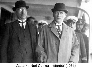 Atatürk Nuri Conker 1931 Fotoğraf