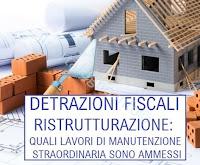 detrazione 50 ristrutturazione edilizia