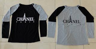 Jual Online LP Chanel Paris Murah Jakarta Bahan Spandex Terbaru.