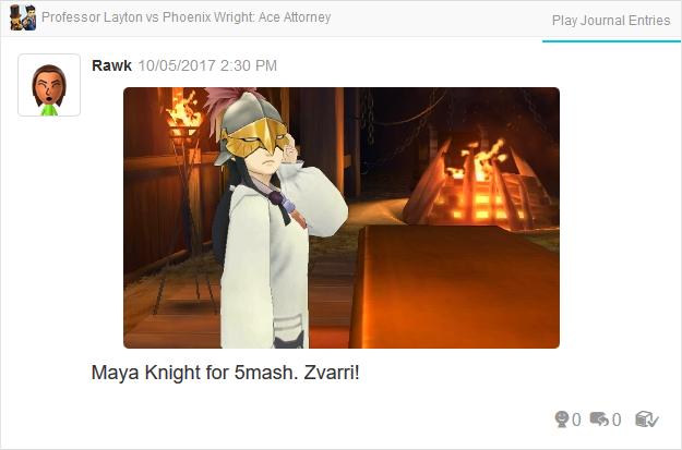 Professor Layton vs. Phoenix Wright Ace Attorney Maya Fey Vigilantes helmet