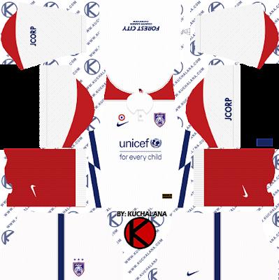 Johor Darul Takzim JDT Nike Kits 2021 - DLS2019 Kits
