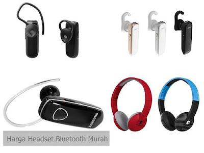 harga headset bluetooth murah