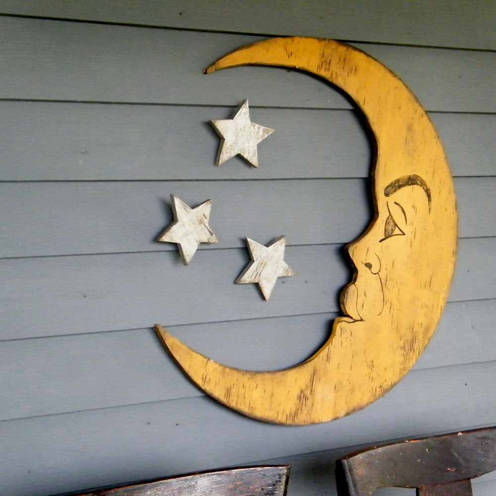 Half Crescent Moon With Face Tattoo: Slippin Southern: New Halloween Signs Y'all