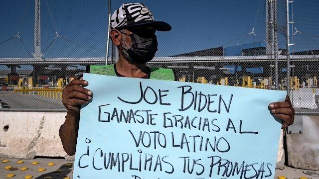 """Biden: """"nada ha cambiado"""" en la frontera entre EE.UU. y México"""