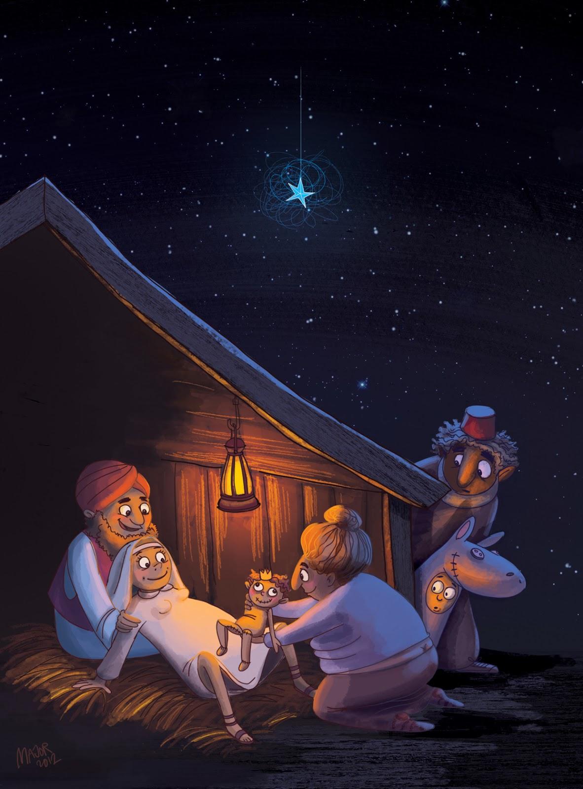 ARTbyMAJOR blog: Julenat i Betlehem