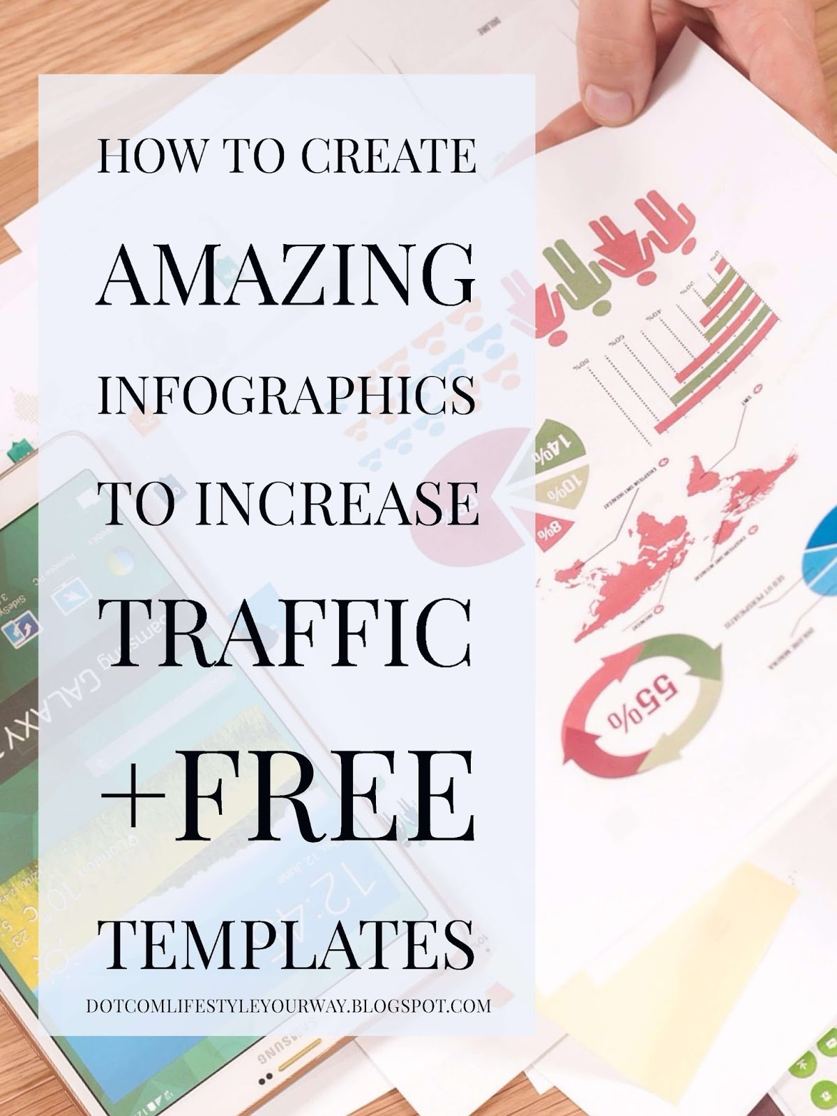 An infographic is lean, concise, and presents information in a way that is visually appealing and easily understood.  Because of this, they generate a lot of traffic and is a great way to add content upgrades to your posts. A compelling infographic is of a certain dimension, color, and type.  Learn how to make more amazing infographics with this list of 8+ tools.  Plus, you can grab some awesome free templates if you're yet to start or want to up your infographic creating game!