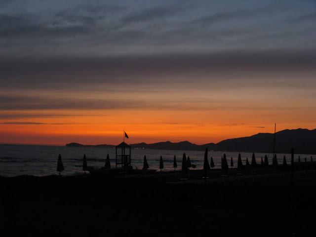 Tramonto sul Golfo di Gaeta