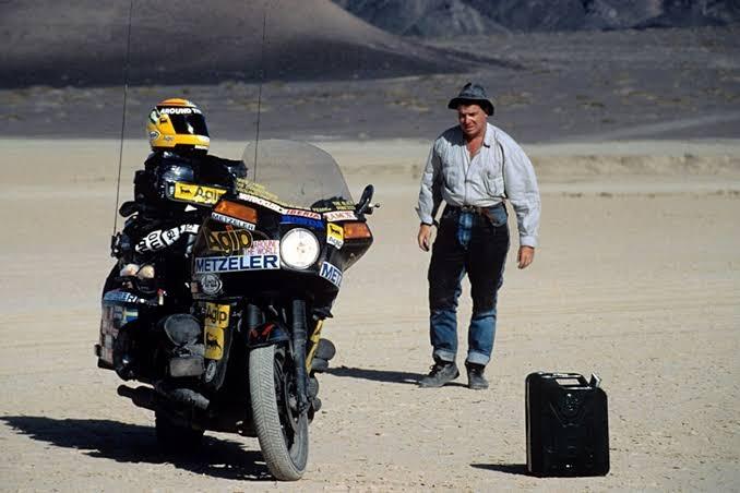 Argentino tiene Récord Guinness del viaje más largo en moto