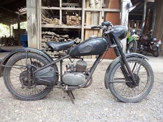 Lapak Motor Antik : Dijual Motor Antik Cspel 125