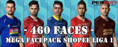 Mega Facepack Shopee Liga