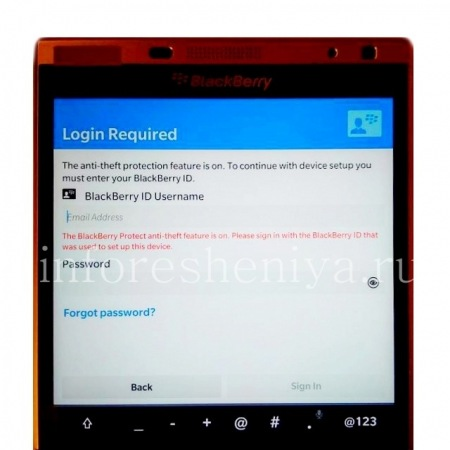bypass blackberry 10 3 3 anti-theft made easy - MICTECHNG