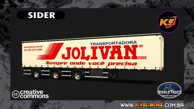 SIDER - JOLIVAN TRANSPORTES