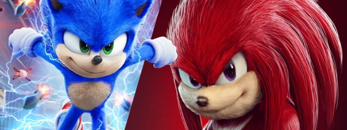 Sonic 2: Knuckles aparece em fotos vazadas das gravações do filme