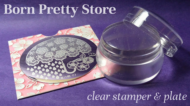 Born Pretty Store clear jelly stamper review