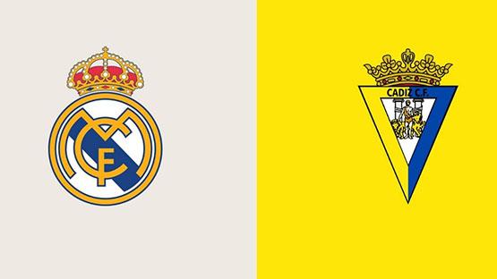 مشاهدة مباراة ريال مدريد ضد قادش 21-04-2021 بث مباشر في الدوري الاسباني