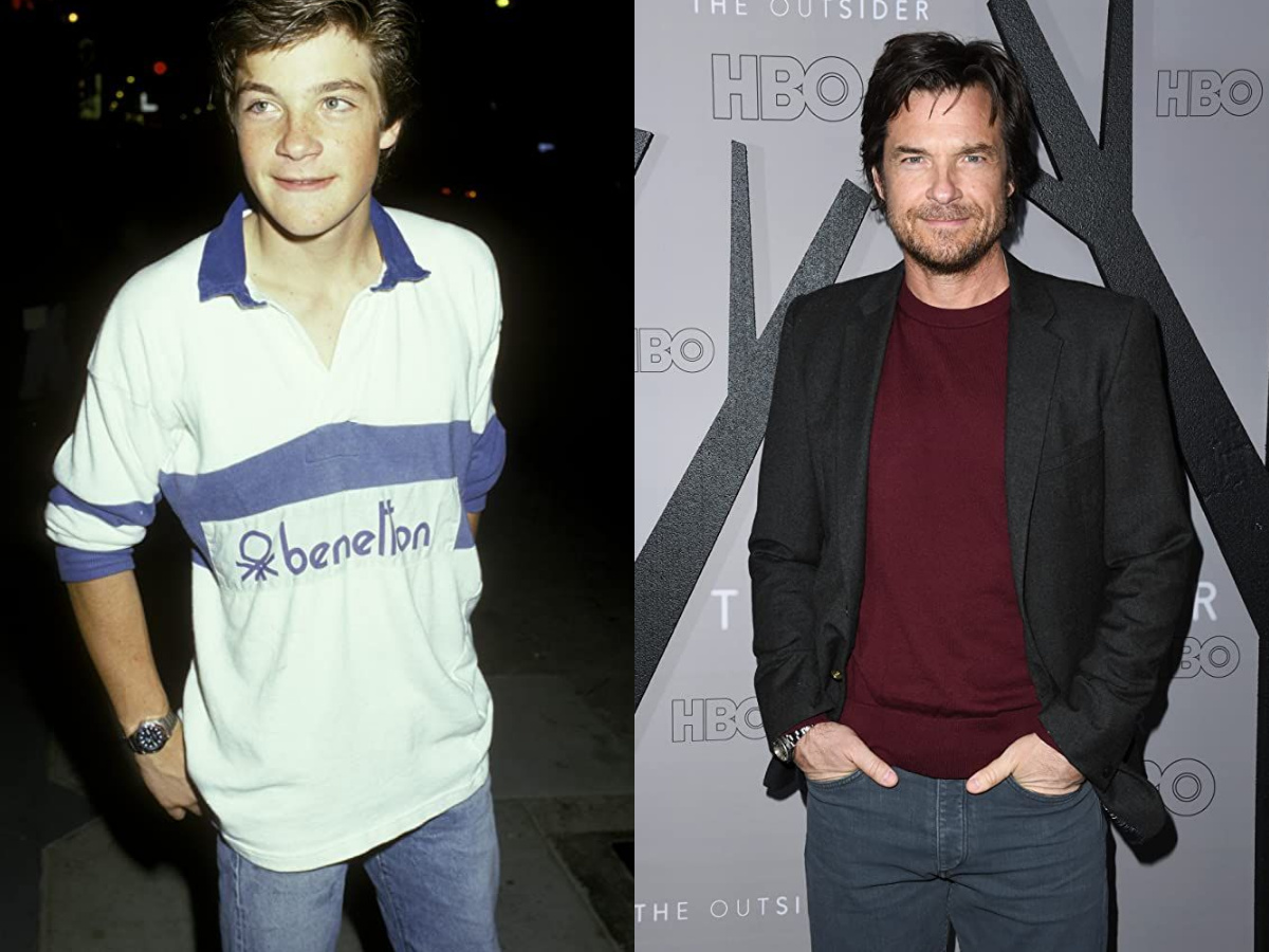 Jason Bateman in 1986 and 2020