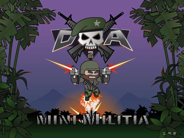 Doodle Army 2 Mini Militia Mod Apk 4.3.1 Pro Pack Purchased