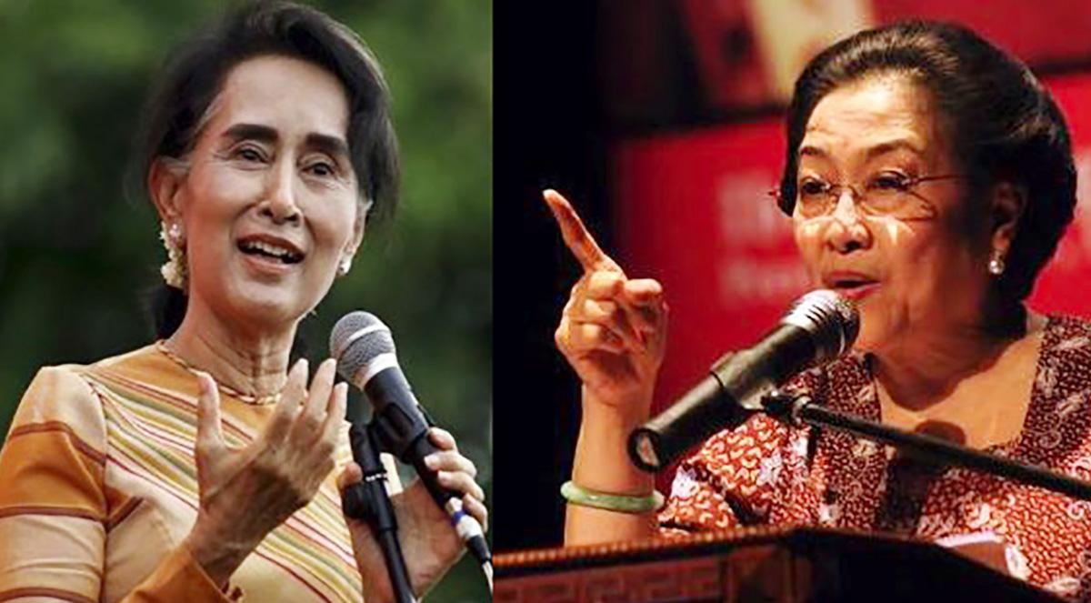 Dhandhy Dwi Laksono: Suu Kyi dan Megawati