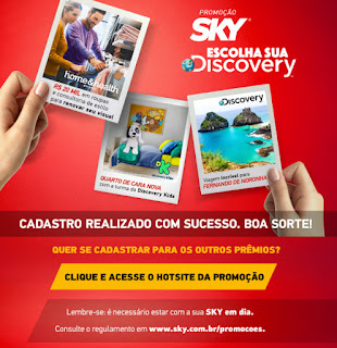 Promoção Sky Escolha Sua Delivery