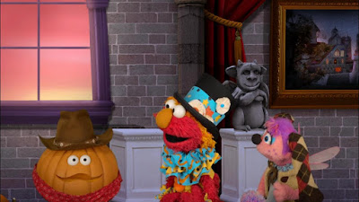 The Trick or Treat on Sesame Street
