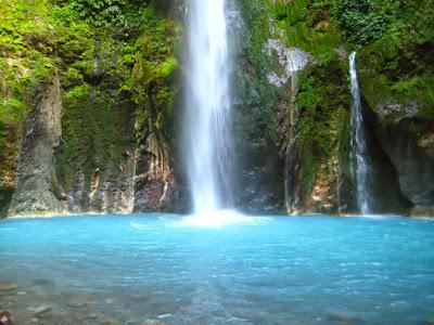 Tempat Wisata Alam Air Terjun Songgolangit Jepara