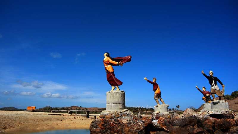 Monumen Putri Mandalika Lombok