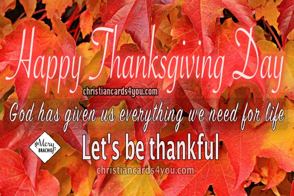 christian image happy thanksgiving day be thankful quotes