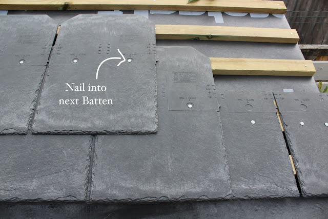synthetic slate roof tiles how to use