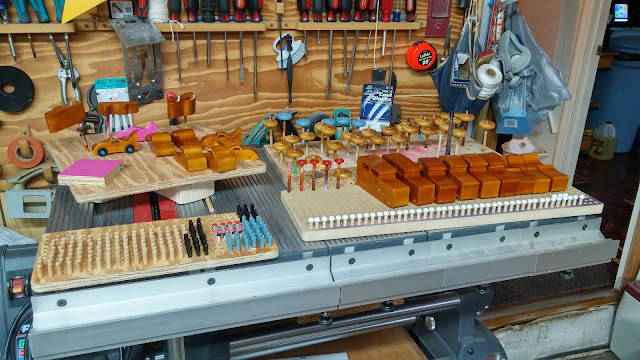 Wooden Toy Cars Parts