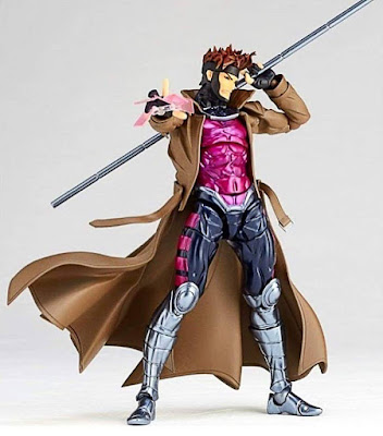 "Figuras: Imágenes y detalles del Revoltech Amazing Yamaguchi, Gambit Powered de ""Marvel Comics"" - Kaiyodo"