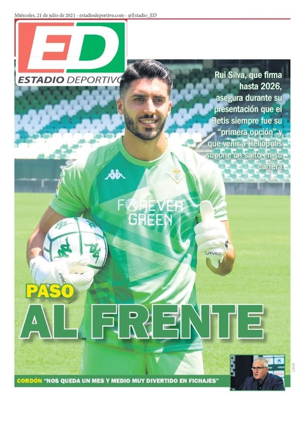 "Betis, Estadio Deportivo: ""Paso al frente"""