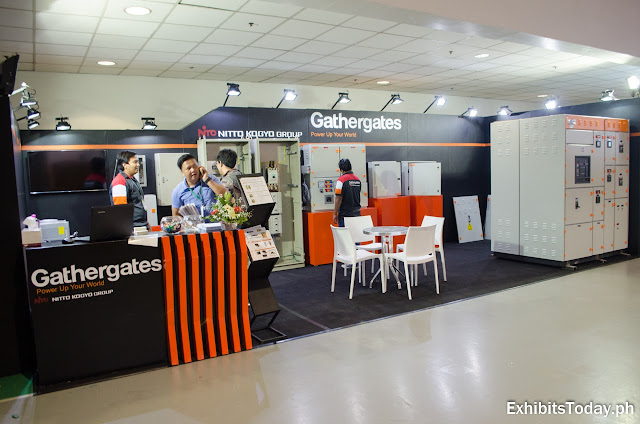 Gathergates exhibition booth