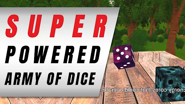 TYPE ZERO, an Indie Strategy Adventure Game with Super Powered DICE!
