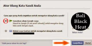 Cara Buka Akun Facebook Yang Lupa Kata Sandi/Password