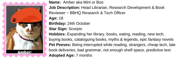 About Amber at BBHQ ©BionicBasil®