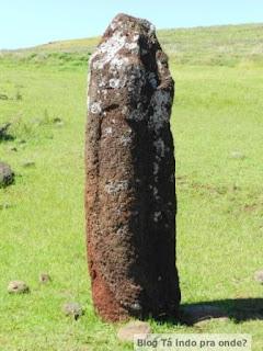 moai feminino em Ahu Vinapu