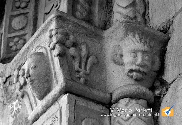 Chiesa di san Giulio a Cravegna: capitello