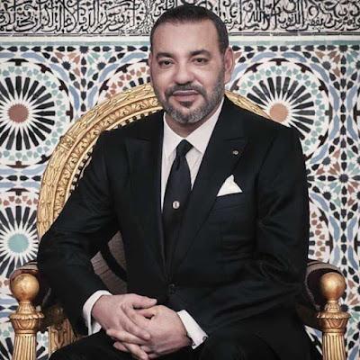 """تهنئة إلى صاحب الجلالة الملك محمد السادس نصره الله بمناسبة منحه  جائزة """" جون جوريس للسلام"""" لعام 2021،"""