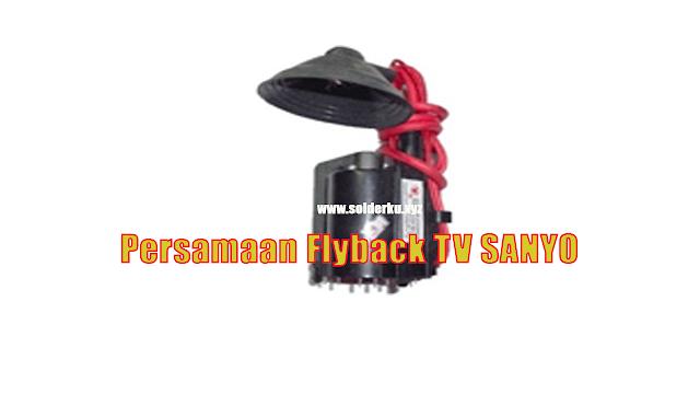 Persamaan Flyback TV SANYO