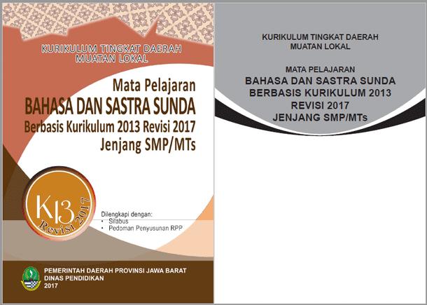 Kurikulum 2013 Bahasa Sunda SMP/MTs Revisi 2017