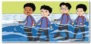 berjalan di dalam air www.jokowidodo-marufamin.com