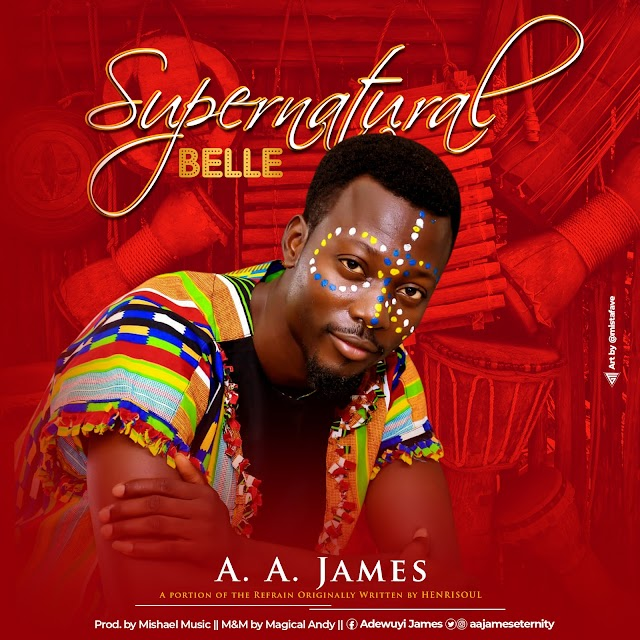 NEW MUSIC: Supernatural Belle - A. A. James [@aajameseternity]