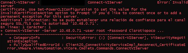 VMware: Instalar PowerCLI offline