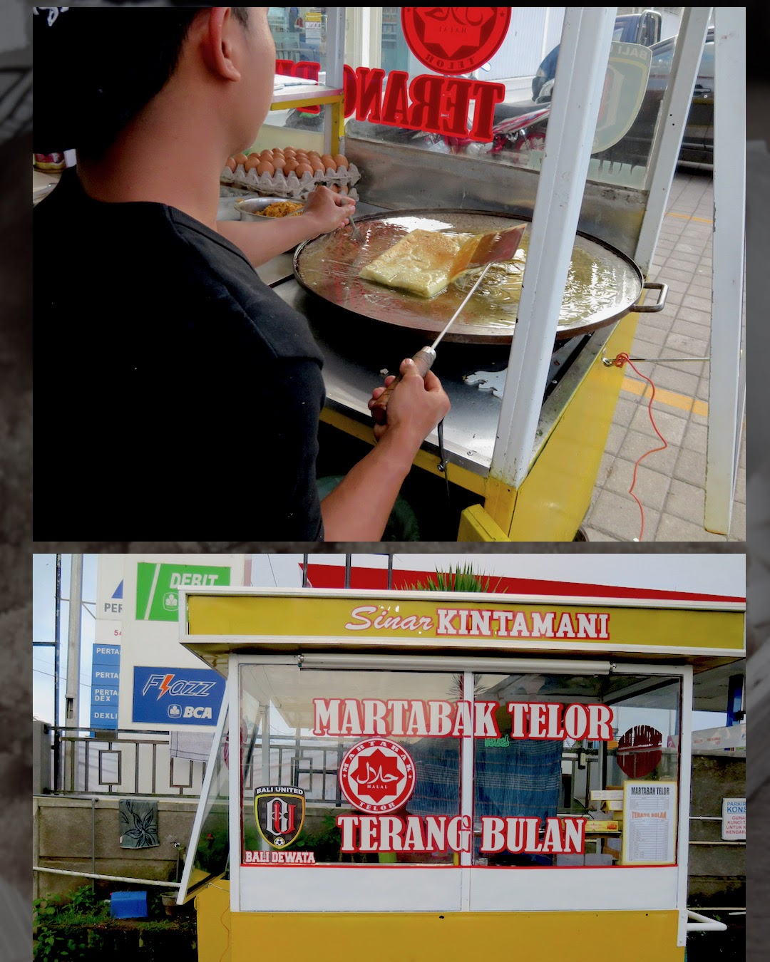 Streetfood aus Bali
